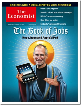 Apple iPad The Economist Steve Jobs